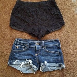 Abercrombie kids and Cato shorts